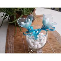 Pinche Tulipan Con Dije Para Centro De Mesa- Torta