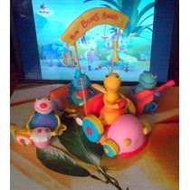 Big Bugs Band + Coche - Baby Tv - Adorno Para Tu Torta