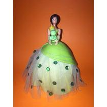 Princesas Y El Sapo En Porcelana Fría -- En Belgrano !!