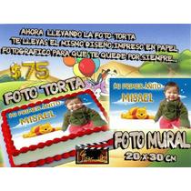 Foto Torta + Foto Mural