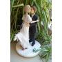 Adornos Torta Casamiento - Novios