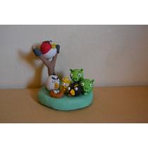 Angry Birds Adorno De Torta Souvenirs Cumpleaños Infantiles