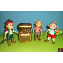 Jake Y Los Piratas - Porcelana Fría - Adorno De Torta
