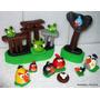Angry Birds Adorno Para Torta En Porcelana Fría Narartesana