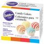 4 Colorantes Wilton En Pasta Liposolubles Para Chocolate