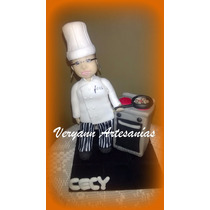 Adorno De Torta Personalizado En Porcelana Fría