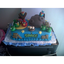 Adorno Angry Birds Space Tal Cual Foto