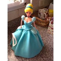 Princesa En Porcelana ...25 Cms De Alto--