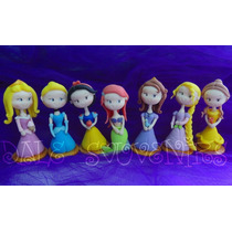 Princesas Disney Cenicienta,sofia,sirenita En Porcelana Fria