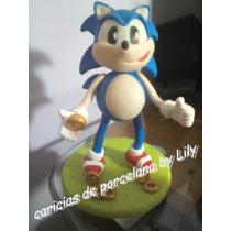 Adorno Para Torta Sonic