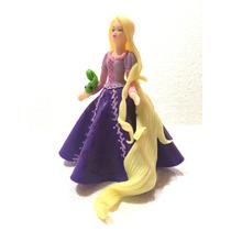 Adorno Para Torta Rapunzel En Porcelana Fría 16cm