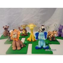 Animales De La Selva. Porcelana Fria Souvenirs Cumpleaños