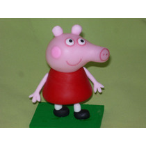 Centro De Torta Peppa Pig Porcelana Fría