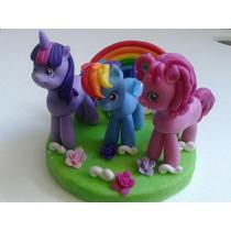 Adorno De Torta My Little Pony En Porcelana Fria