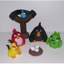 Angry Birds Adorno Torta Porcelana Fria Nuevos!