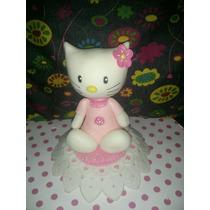Kitty Adorno De Torta En Porcelana Fria