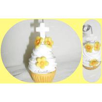 Cupcakes Comunión Bautismo Souvenirs Denarios Porcelana