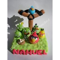 Adorno De Torta Angry Birds