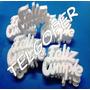Letras Frases Feliz Cumpleaños En Telgopor Blanco