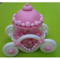 Princesas - Carroza De Princesa Para Torta (caramelera)
