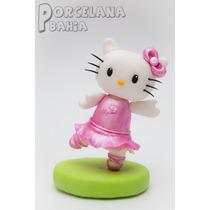 Kitty En Porcelana Fria - Adorno Para Torta