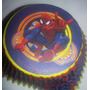 Pirotines Cupcake Importado Wilton Spiderman Heroe Candy Bar