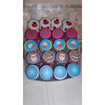 Pirotines Decorados Cupcakes Muffins Nº 10 X 25