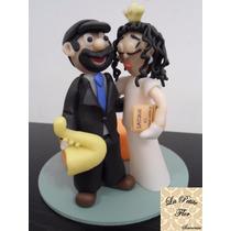 Adornos Para Torta Muñecos De Bodas Casamiento Porcelana