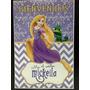 Cartel Bienvenida Poster Personalizado Rapunzel Tangled
