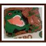 Torta Dinosaurio Rex Xkg Decorado