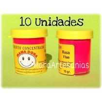 10 Pigmentos / Colorantes Para Porcelana Fria Mama Dora