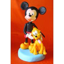 Mickey- Minnie Adorno Para Tortas