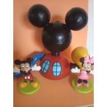 Casa De Mickey Mouse En Porcelana Fria