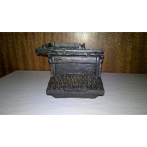 Maquina De Escribir Adorno En Resina Elioplata
