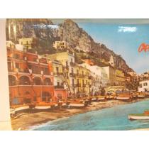 Bandeja Melamina Souvenir Isla De Capri Año 1980 Impecable!