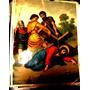 Antiguo Via Crucis-1 Lamina Importada Enmarcar Cuadro