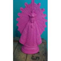 Virgen De Lujan Estatuilla Yeso 40cm Alto X 23 De Ancho