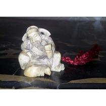 Netzuke Figura Oriental Original Autentico Noble Material Ox