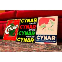 Cuadros Poster Antiguo Bebidas. Cynar Retro. Decoración Bar