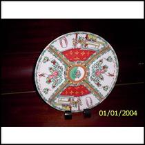 Plato Decorativo Arte Oriental