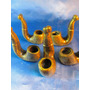 El Arcon Lote De 5 Pipas De Fundicion De Bronce 5,5cm 36060