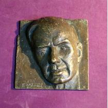Escultura (altorelieve) En Bronce De Flaminio Bertoni