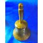 El Arcon Antigua Campana Llamador De Bronce Labrada 18055