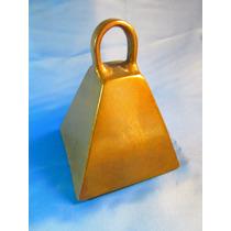 El Arcon Gran Cencerro Llamador Bronce Pesada 16cm 42069