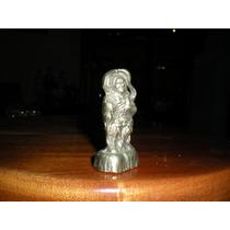 Hermoso Buda Miniatura Bronce Macizo, Unico En El Sitio