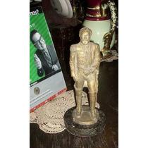 Figura Replica Gral Lavalle 28cm Firmada Marmol (4436)