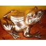 Antigua Figura De Sapo De Bronce Grande Pesa 2,5 Kilos Ver!!