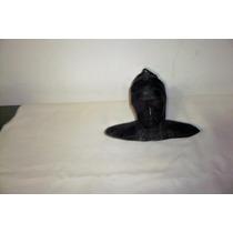 Antiguo Busto De Bronce Patinado