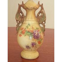 Antiguo Jarron De Porcelana Inglesa