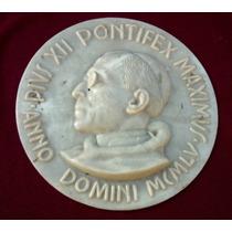 Placa Recordatoria Del Papa Pio Xii